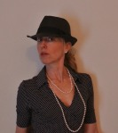 Author Pic collared for a night