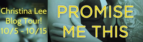 promise me this blog tour banner